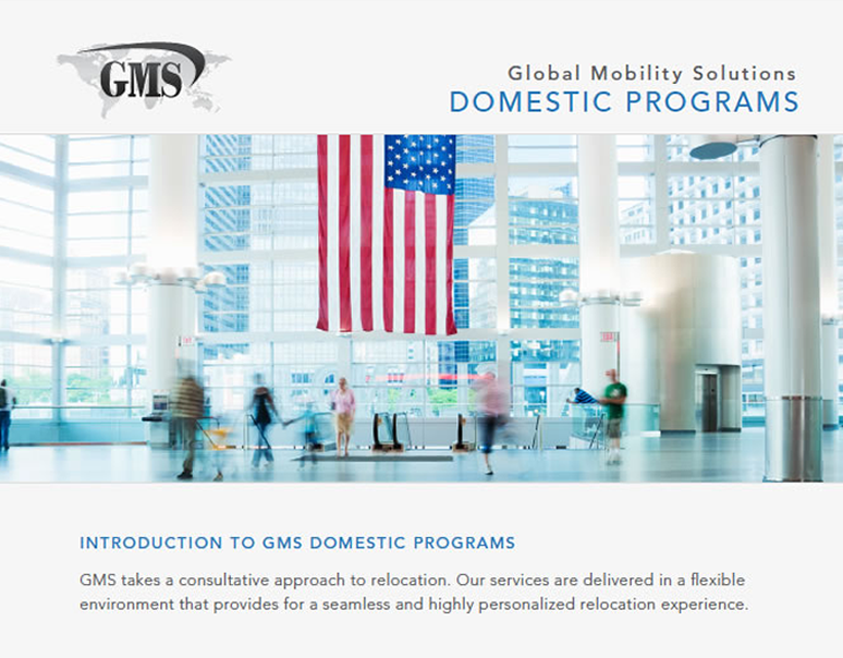 GMS domestic relocation service