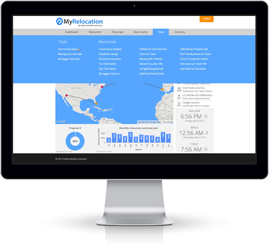 Relocation Technology l MyRelocation Dashboard