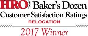 "2017 HRO Today's ""Baker's Dozen"" Award for Customer Satisfaction"