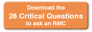 Download the 28 Critical Questions to ask an RMC when submitting an RFP