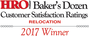 "Global Mobility Solutions wins HRO Today's ""Baker's Dozen"" 2017 Award lump sum"