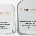 Two glass Global Mobility Solutions MRINetwork Awards Recruiter Services Relocation Pre-Decision Support Departure Services Destination Services Global Services Government Services