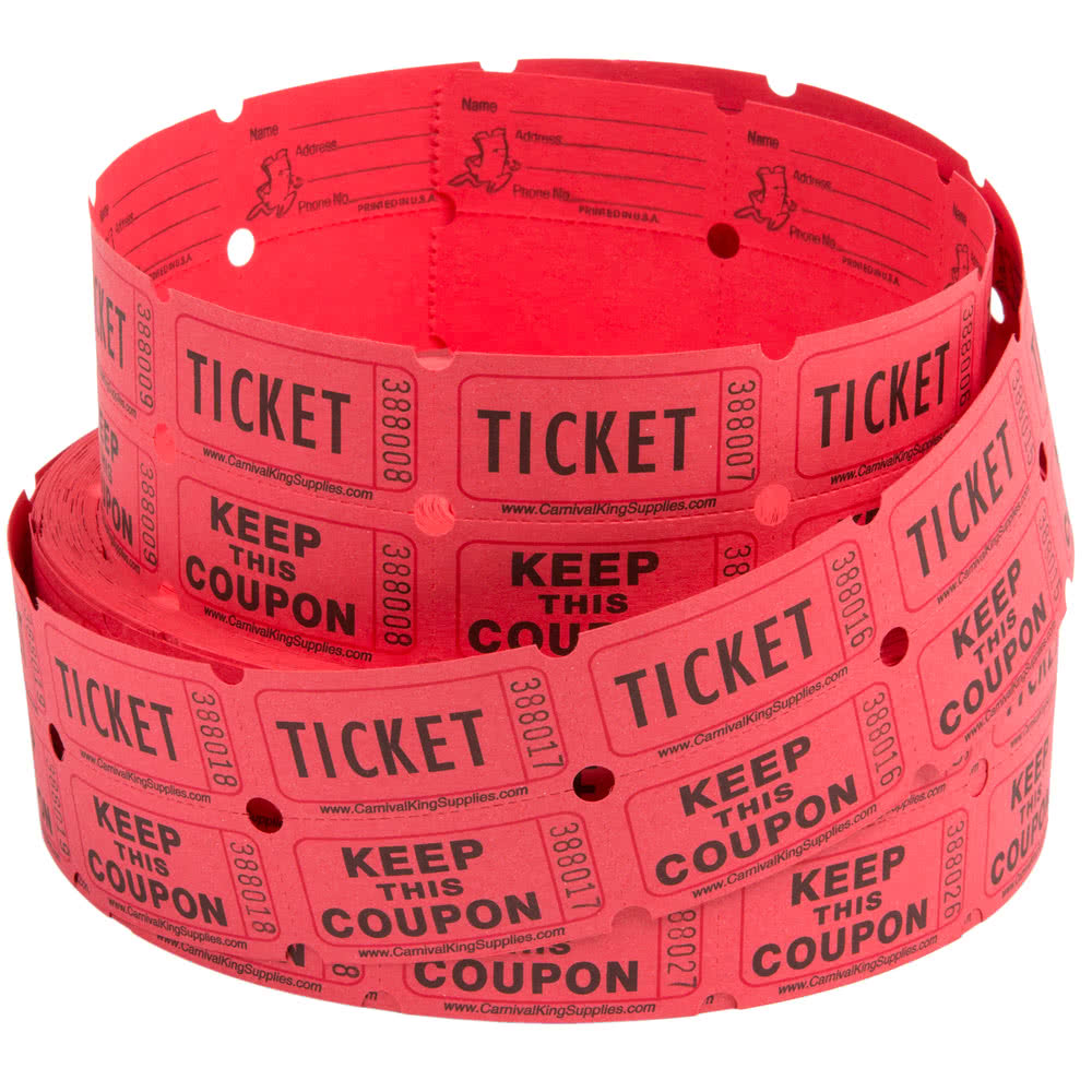 where to find raffle tickets