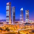 City in Spain skyline reflecting Changing Economy
