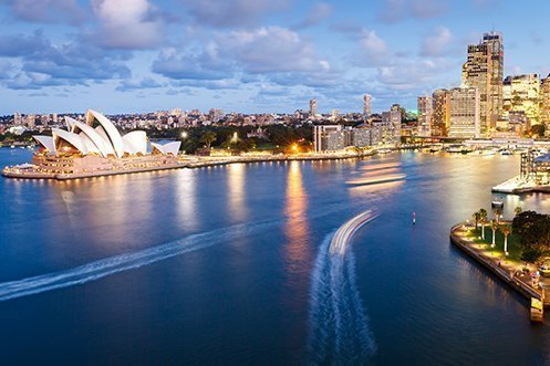 Sydney Australia skyline, a sight many migrant workers may not see if they must work in regional Australia due to caps on Australia migrants