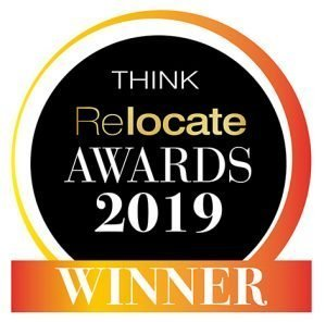 corporate relocation services provider wins 2019 Think Relocate Award for technology