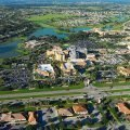Aerial view of The Villages, Florida, one of the fastest growing cities in the United States