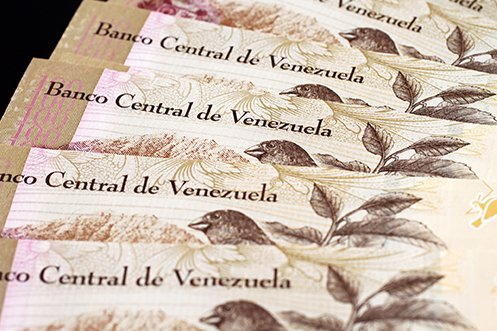 Venezuela currency representing a country already on travel ban, and may continue to be included in the travel ban expansion